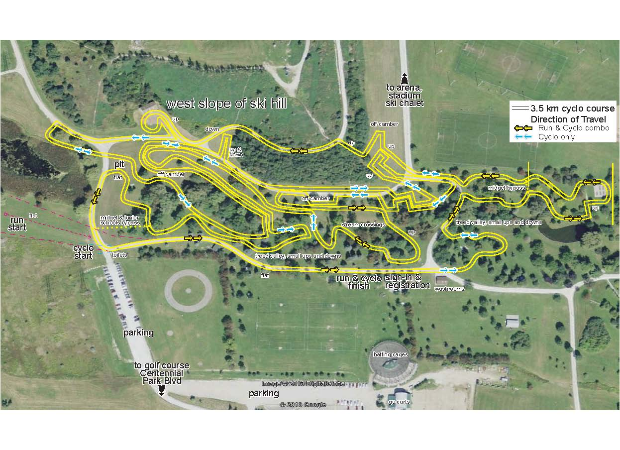 Cyclocross Route